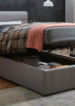 Dawson Single Ottoman Sound System Bed