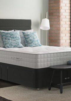 Duo Premium Luxury Divan Set 4'6 Double GREY