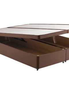 Classic Ottoman Base Only 4'6 Double BROWN