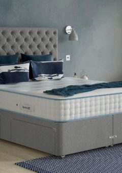 Luxury Divan Base 5'0 King GREY