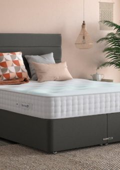 Luxury Divan Base 4'6 Double GREY