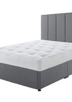 Sealy Divan Base 4'6 Double GREY