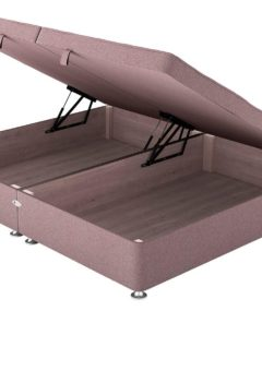 Therapur SK Ottoman Base Only Tweed Blush 6'0 Super king PINK