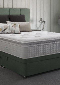 Therapur D Ottoman Base Only Tweed Mint 4'6 Double
