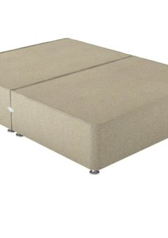 Therapur K P/T 0 Drw Base Only Tweed Biscuit 5'0 King BEIGE