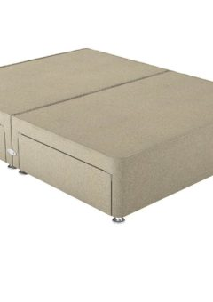 Therapur K P/T 2+2 Drw Base Only Tweed Biscuit 5'0 King BEIGE