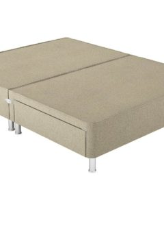 Therapur S P/T 2 Drw Leg Base Only Tweed Biscuit 3'0 Single BEIGE