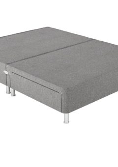 Therapur 4'0 P/T 2 Drw Leg Base Only Tweed Grey 4'0 Small double