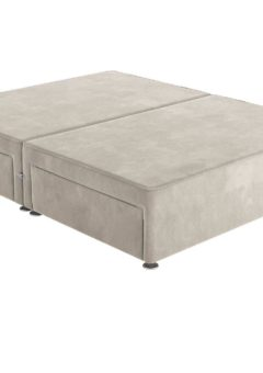 Sleepeezee 4'0 P/T 4 Drw Base Plush Ash 4'0 Small double GREY