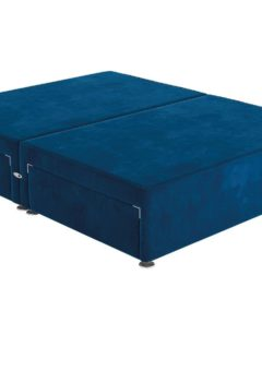 Sleepeezee SK P/T 2+2 Drw Base Plush Navy 6'0 Super king BLUE