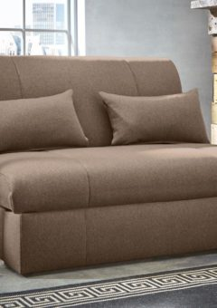 Kelso Sofa Bed Small Double BROWN