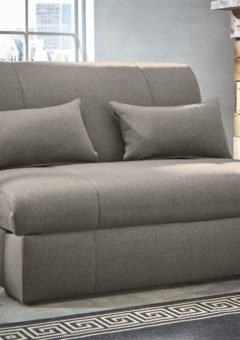 Kelso Sofa Bed Single GREY