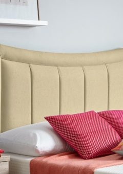 Alabama Headboard 4'6 Double CREAM