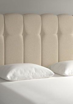 Queensland Headboard 4'6 Double BEIGE