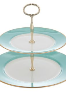 Fortnum's St James Two Tier Cake Stand