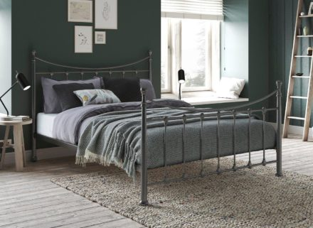 Debbie Metal Bed Frame 4'6 Double