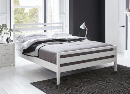 Woodstock Wooden Bed Frame 5'0 King WHITE