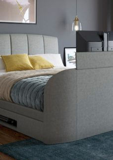 Seoul Bed Frame with 32'' LED TV 4'6 Double
