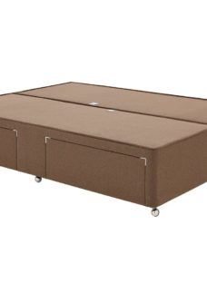 Luxury Divan Base 4'6 Double BROWN