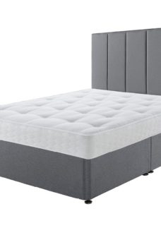 Sealy Divan Base 4'0 Small double GREY