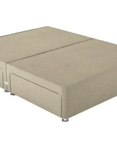Therapur SK P/T 4 Drw Base Only Tweed Biscuit 6'0 Super king BEIGE