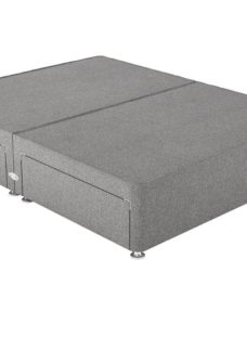 Therapur 4'0 P/T 4 Drw Base Only Tweed Grey 4'0 Small double