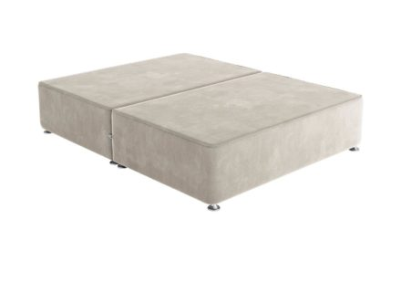 Sleepeezee K P/T 0 Drw Base Plush Ash 5'0 King GREY