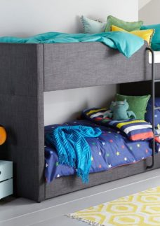 Willow Fabric Bunk GREY