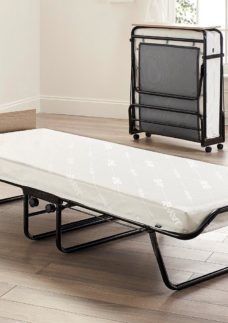 Meadow 2'6 Folding Bed Pocket Sprung Mattress (Dhd 2'6 Small single