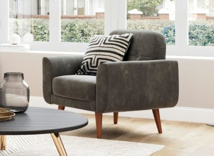 Gallway Chair - Steel Grey Velvet