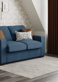 Odessa 2 Seater Sofa Bed Deluxe - Royal Blue 2 Seater