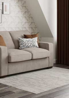 Odessa 2 Seater Sofa Bed Deluxe - Grey 2 Seater