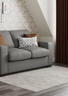 Odessa 3 Seater Sofa Bed Deluxe - Grey Texture 3 Seater