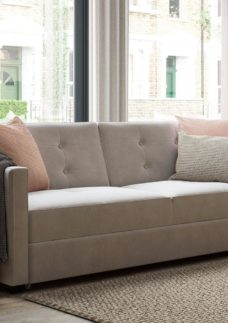 Belfast 3 Seater Sofa Bed - Natural CREAM