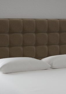 Lever Headboard 4'6 Double BROWN