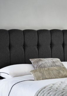Queensland Headboard 4'0 Small double GREY