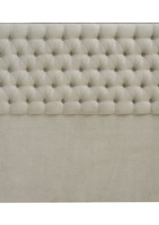 Eleanor Headboard 4'6 Double BEIGE