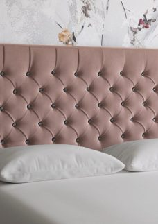 Florentine D Strutted H/B Plush Pink 4'6 Double