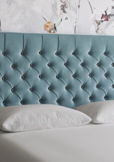 Florentine 4'0 Strutted H/B Plush Sky 4'0 Small double BLUE