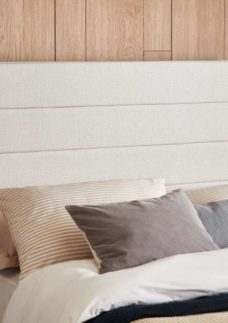 Contract Upholstered Headboard King 5'0 King SILVER