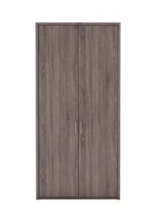 Melbourne 2 Door Hinged Wardrobe - Oak GREY