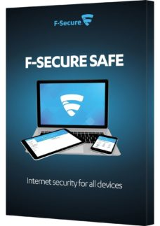 F-SECURE SAFE Internet Security - 5 devices