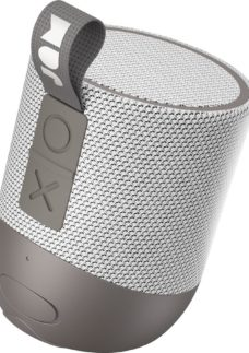 JAM Double Chill HX-P404GY Portable Bluetooth Speaker - Grey