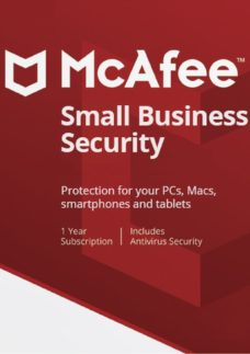 MCAFEE Small Business Security 2019 - 1 year for 5 devices