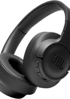 JBL Tune 750BTNC Wireless Bluetooth Noise-Cancelling Headphones - Black
