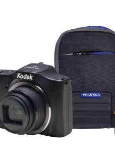 KODAK PIXPRO Friendly Zoom FZ152 Compact Camera Kit with 32 GB SD Card and Case - Black