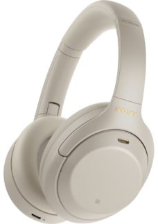 SONY WH-1000XM4 Wireless Bluetooth Noise-Cancelling Headphones - Silver