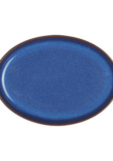Imperial Blue Small Oval Tray