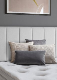 Columbia SS Headboard V3 2'6 Small single SILVER