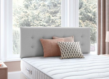 Fairfield D Headboard V3 4'6 Double SILVER